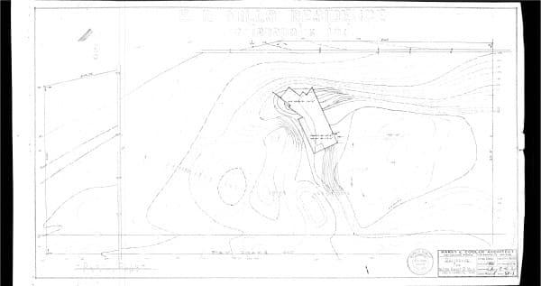 SP-1 Plot plan.