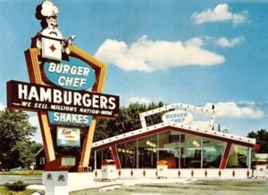 Harry Cooler's Original Burger Chef Design